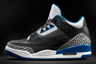 "new style b7565 aff35 Air Jordan 3 ""Sport Blue"""